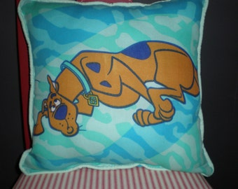 Upcycled Vintage Scooby-Doo Pillows