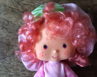Vintage Raspberry Tart Doll with her pet monkey Rhubarb - Scented