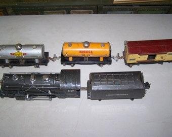 Vintage 1930's Lionel Metal Train Set