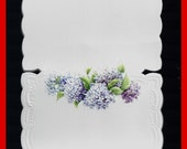 PLACE CARDS Embossed Lilac Garden Wedding Dinners Holidays Card Stock Set 10