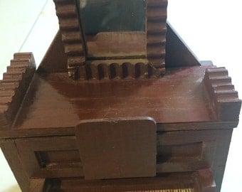"Music box- rustic piano plays ""Yesterday"""