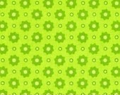 81001-  RJR Apple Hill collection dots in lime color - 1/2 yard