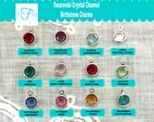 Add a Swarovski Crystal Birthstone Charm