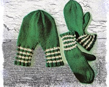 Knitting Pattern For Hand Holding Mittens : Popular items for hand holding mitten on Etsy