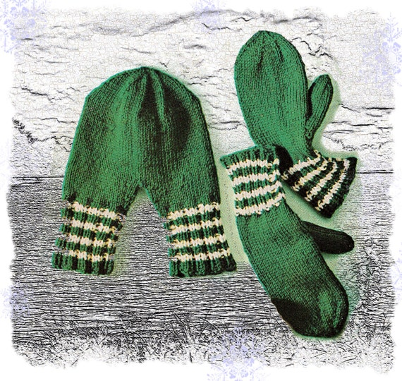 Instant Download PDF Knitting pattern to make His & Hers