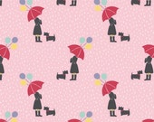 April Showers - Pink Umbrellas from Lewis and Irene