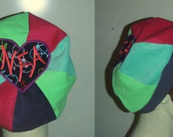 NFA corduroy Tam Beret  style  hat