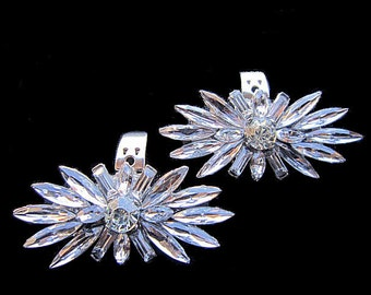 Bridal Rhinestone Shoe Clips Wedding Shoe Accessory -- TALITA