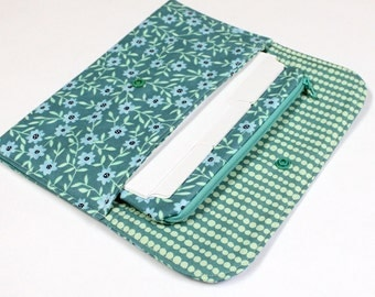Cash Budget System - Clutch Pouch - 6 Dividers - 1 Zippered Envelope for Coins  - READY to SHIP