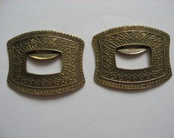Vintage Shoe Jewelry//TipToe Shoe Clip// Shoe Bling//Vintage 60s Accessory