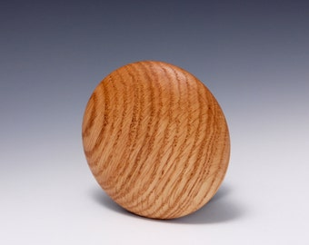 """A 4"""" Oak Wood Round Rib for Throwing Perfect Bowls Re-design by Hsinchuen Lin 林新春"""