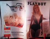 Playboy Magazine Periodical Gentleman's August 1968
