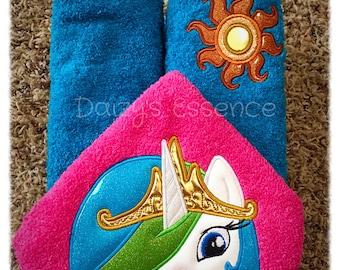 Princess Celestia Hooded Towel