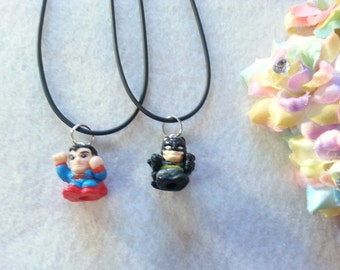 10 Super Hero Squinky Necklaces Party favors