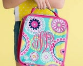 Personalized Lunch Bag ~ Personalized Lunch Tote ~ FREE Personalization ~ Girls Monogrammed Lunch Bag ~ Piper Lunchbox ~ Quick Shipping!