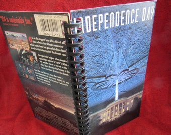 Independence Day VHS Tape Box Notebook