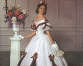 UNCUT Simplicity 5724 Misses' Ball Gown Costume Pattern Sz 6-8-10-12