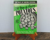 Vintage Culinary Arts Institute 250 Ways of Serving Potatoes 1941 Soft Cover Recipe Book
