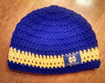 Crocheted Baby's Notre Dame Hat