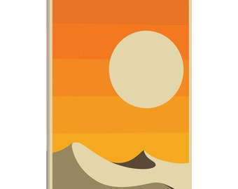 iCanvas Death Valley Gallery Wrapped Canvas Art Print by Jazzberry Blue