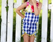 NEW: Sommer Romper PDF Sewing Pattern & Tutorial, All sizes 2-10 Included