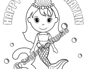 spa party coloring pages - photo#28