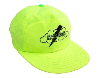 Neon 80s Neon Yellow Neon Snapback Cap