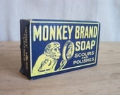 Vintage Soap, Vintage Advertising, Monkey Brand Soap