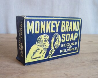 Vintage Soap, Vintage Advertising, Monkey Brand Soap