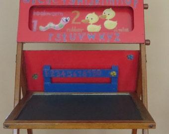 Desk Vintage Chalkboard Etsy