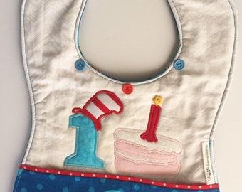 Dr Seuss Custom 1st Birthday Bib, Cat in the Hat baby's first birthday, Dr Seuss birthday party, Cat in the Hat birthday bib