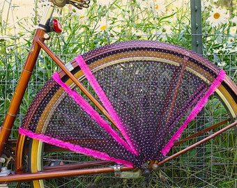 Bike skirt guard, 'Samba'. Bicycle accessories, bicycle, cruiser accessories, street cycling