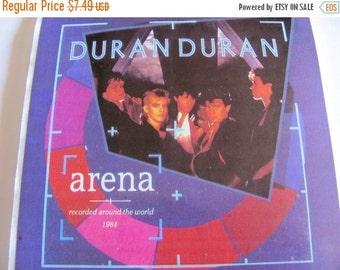 ON SALE Rare Large Vintage Duran Duran Tritec Music Personalities Inc Sticker - 80's Unique Retro Gift - 1984 Collectable