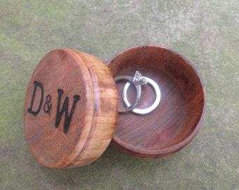 Personalized Wedding Ring Box Ideas   Wooden Ring Box   Ring Bearer Pillow Alternative   Wood Ring Box for Wedding Rings   Proposal Box