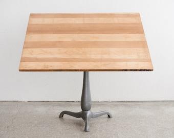 Industrial Pedestal Drafting Table / Bar