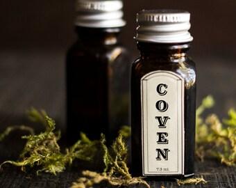 Coven Perfume Oil ™ - Amber, Redwood, Saffron, Cardamom, Plumeria, Smoke