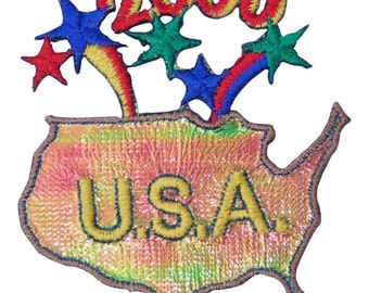 Shiny 2000 USA Patch X American Deadstock Patches