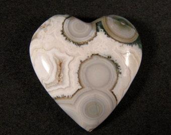 Ocean Jasper HEART Cabochon ETOJ502