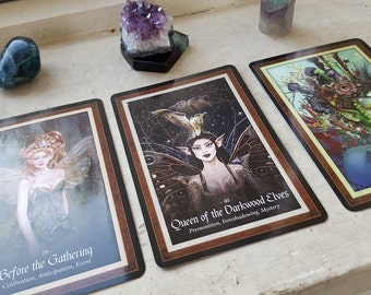 The Faery Forest Oracle Reading - 3 Card Spread