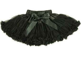 Black Baby Petticoat Girls Black Tutu Pettiskirt