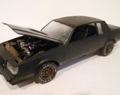 Classicwrecks, Scale Model, Rusted Wrecked,Buick GNX Car,Barn Find