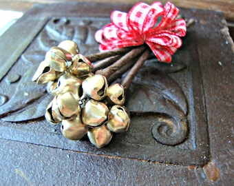 Handmade Tiny Jingle Bell Picks