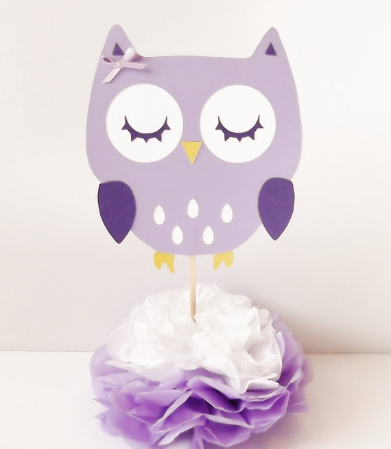 Owl Baby Shower Supplies: Items Similar To Owl Centerpieces