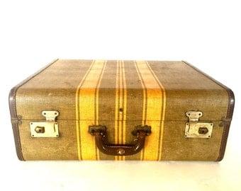 Vintage luggage / suit case