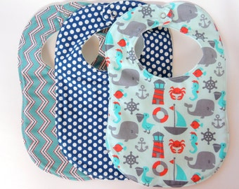 Drooler Bibs- Set of 3