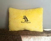 Hufflepuff inspired pillow