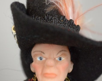 "Dollhouse Doll ""Witch""  1 : 12  OOAK  by  Fairytaledreams"