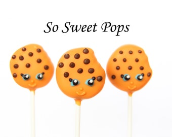 So Sweet Pops Happily Made Cookie Character Inspired Cake Pops