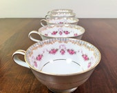 Noritake Ridgewood Tea Cups -- Set of 5