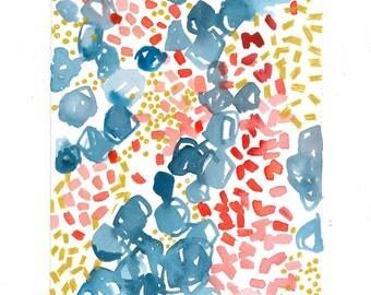 Summery Blooms - Original Print